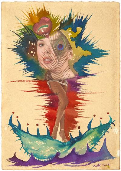 Bela Szeift, 'Birth of Venus collage', 2008