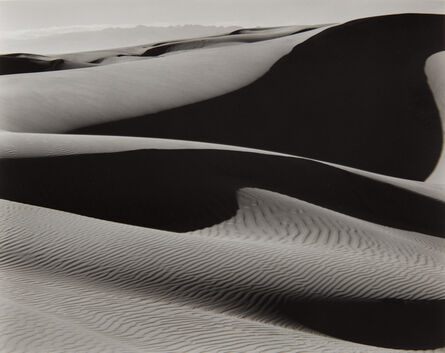 Edward Weston, 'Dunes, Oceano', 1936-printed later by Cole Weston