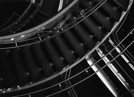 Arnold Kastenbaum, 'Fulton Station Stairs'