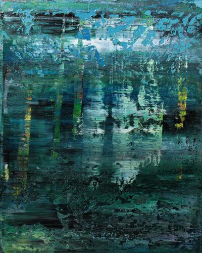 Koen Lybaert, 'abstract N° 1021 [East Indian hygrophila]'