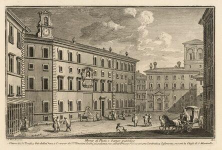 Giuseppe Vasi, 'Monte di Piet…, e banco pubblico', 1747-1801