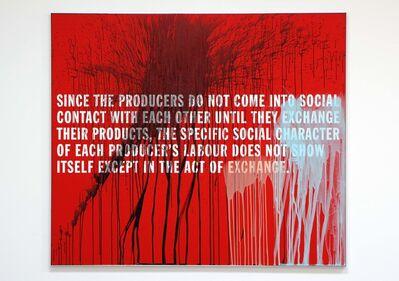 Thomas Locher, '8. MARX / CAPITAL ( SINCE THE PRODUCERS ...)', 2007