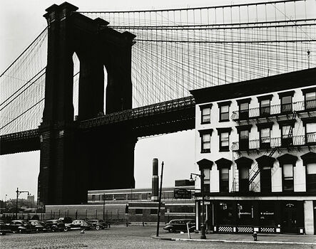 Brett Weston, 'Brooklyn Bridge, New York', 1946-printed 1948