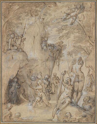 Bartholomaeus Spranger, 'Diana and Actaeon', ca. 1580–1585