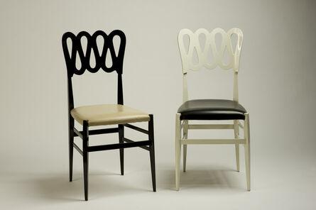Gio Ponti, 'Two prototype chairs', 1965