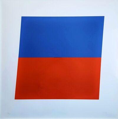 Ellsworth Kelly, 'Blue/Red-Orange', 1972