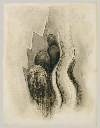 Georgia O'Keeffe, 'Plate II Drawing Number 13 Palo Duro Canyon', 1968