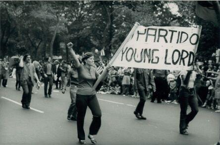 Máximo Colón, 'Partido Young Lords', 1970