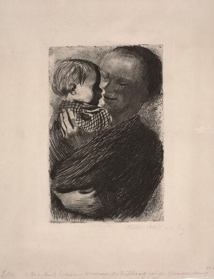 Käthe Kollwitz, 'Mother with Child in Her Arms (Mutter mit Kind auf dem Arm)', 1910