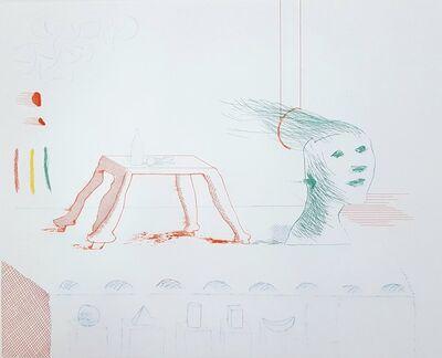 David Hockney, 'A Moving Still Life', 1977