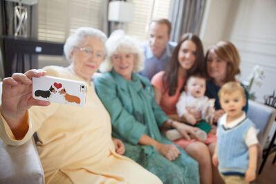 Alison Jackson, 'Royal family selfie', 2015