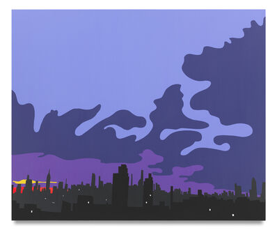 Brian Alfred, 'Sizzling Summer City Sunset', 2020