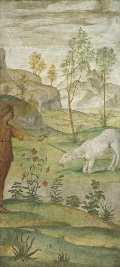 Bernardino Luini, 'Procris and the Unicorn', ca. 1520/1522