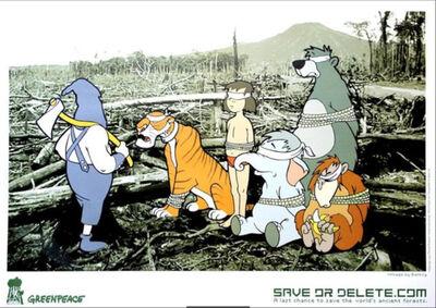 "Banksy, 'Banksy ""Save or Delete"" Greenpeace', 2002"