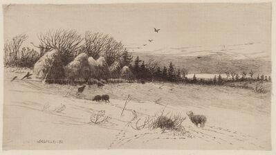 John Austin Sands Monks, 'Evening After The Storm', 1886