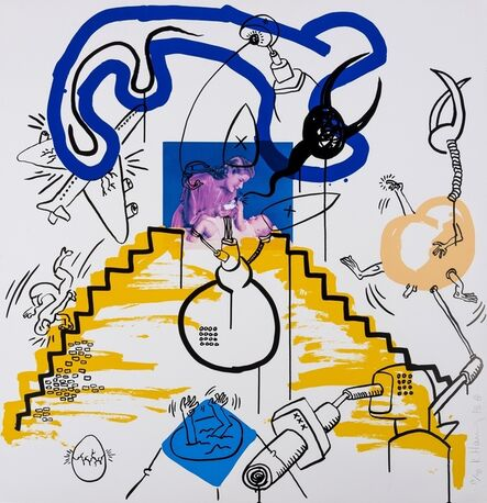 Keith Haring, 'Apocalypse (See. Littmann p.102)', 1988