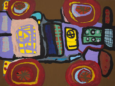 Pablo Calderon, 'Flattened Truck', 2009