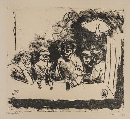 Max Pechstein, 'SCHNAPSBUDE I', 1911