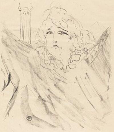 """Henri de Toulouse-Lautrec, 'Sarah Bernhardt in """"Cleopatra"""" (Sarah Bernhardt dans """"Cléopatre"""")', 1896"""