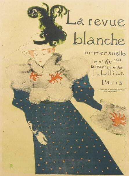 Henri de Toulouse-Lautrec, 'La Revue blanche (D. 355; Adr. 130; W. P16.C)', 1895