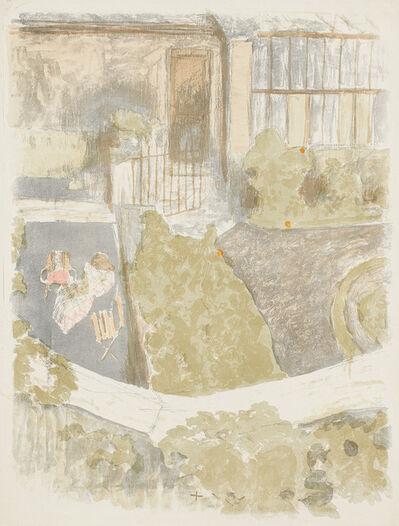 Édouard Vuillard, 'Le Jardin devant l'atelier (The Garden in Front of the Workshop) (R.-M. 45)', 1901