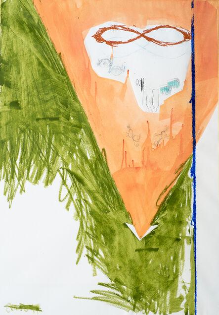 Zsolt Tibor, 'forest methyl missile', 2016