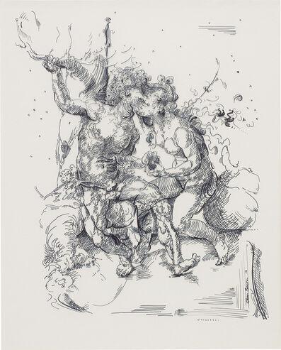 Glenn Brown, 'Drawing 30 (after Gossaert)', 2014