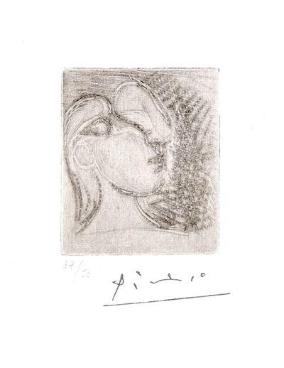 Pablo Picasso, 'Tête de femme tournée à droite', 1933