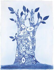 Kirsten Hassenfeld, 'Blue Ware Ornamental', 2008