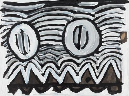 Ian Adams, 'Monster Face', 2017
