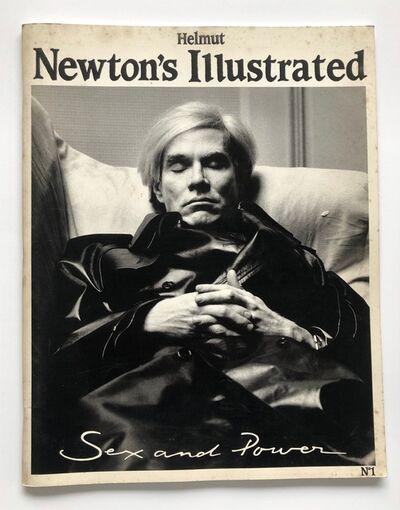 Helmut Newton, 'Newton's Illustrated #1', 1987
