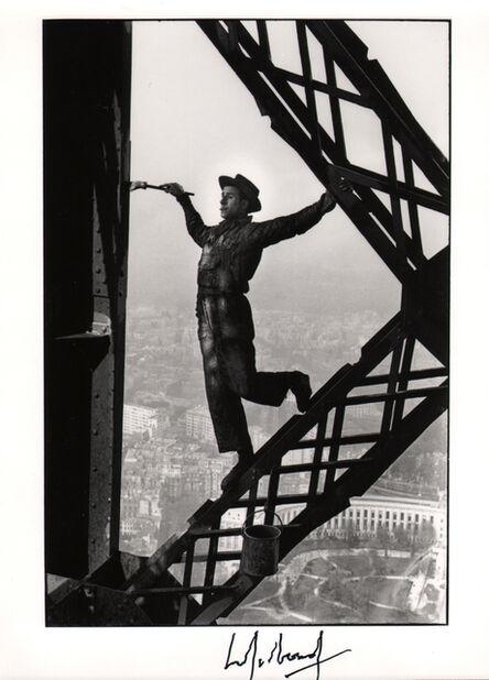 Marc Riboud, 'The Eiffel Tower Painter, Paris', 1953