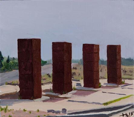 Liu Xiaodong, 'Four Columns', 2015