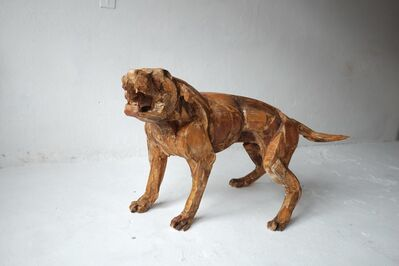 Sophie Dickens, '10. Life size Rottweiler I ', 2017