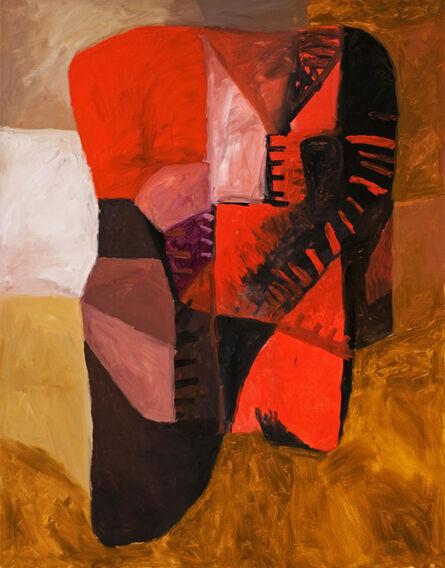 Antonio Malta Campos, 'Vermelho', 2004