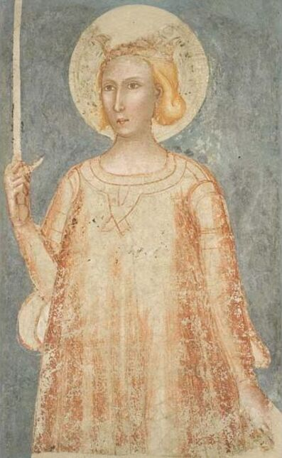 Unknown Artist, 'Saint Catherine of Alexandria', 14th century