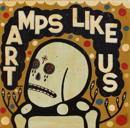 """Mike Egan, '""""Tramps Like Us""""', 2017"""