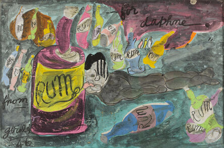 Gerald Wilde, 'Rum for Daphne', 1946