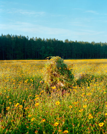 Jeremy Chandler, 'Ghillie Suit 2 (Flowers)', 2011