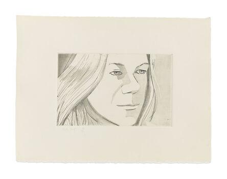 Alex Katz, 'June Ekman's Class: Judy', 1972