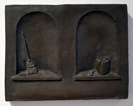 Thomas McAnulty, 'Broom and Bucket, Double Niche'