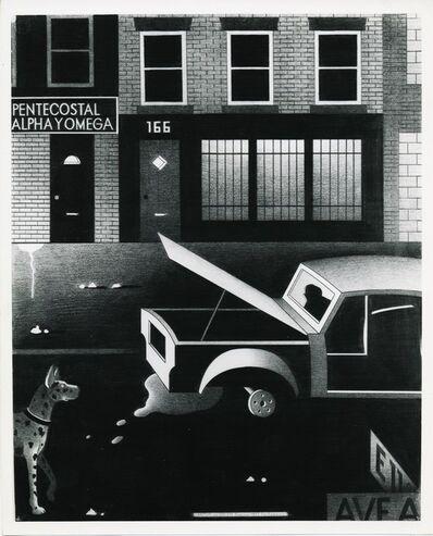 Anton van Dalen, 'Alpha y Omega with Dog', 1977
