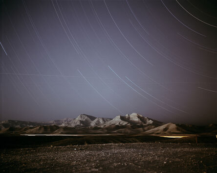 Richard Misrach, 'Night Landscape, near Ellis Air Force Base', 1999