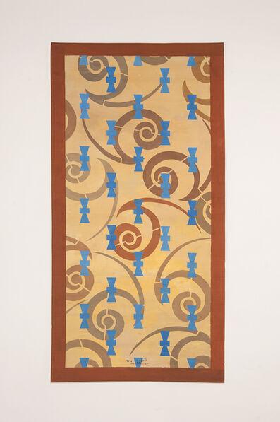 Chant Avedissian, 'P8 - Spiral pattern from Tashkent caftan and blue Khiva glazed tiles', 2016