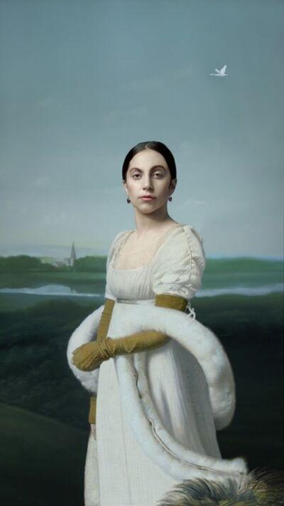 Robert Wilson (b. 1941), 'Lady Gaga: Mademoiselle Caroline Riviere', 2014