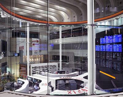Matthew Pillsbury, 'Tokyo Stock Exchange (TV14590)', 2014