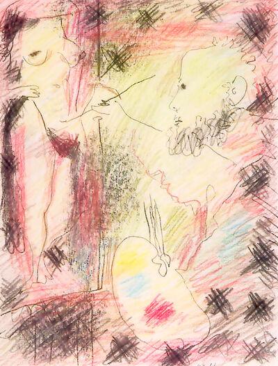 Pablo Picasso, 'Le peintre et son modèle', 1965