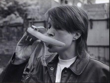 Sarah Lucas, 'Eating A Banana (Revisited)', 1990-2017