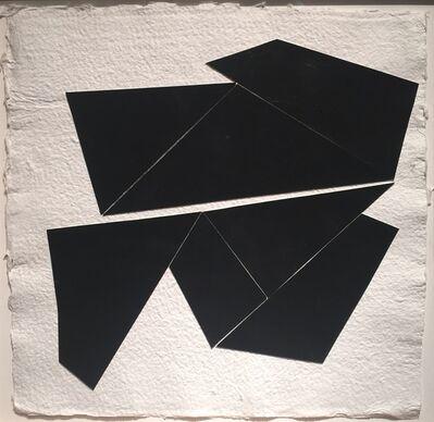 Kenneth L. Greenleaf, 'Black Collage 8', 2014