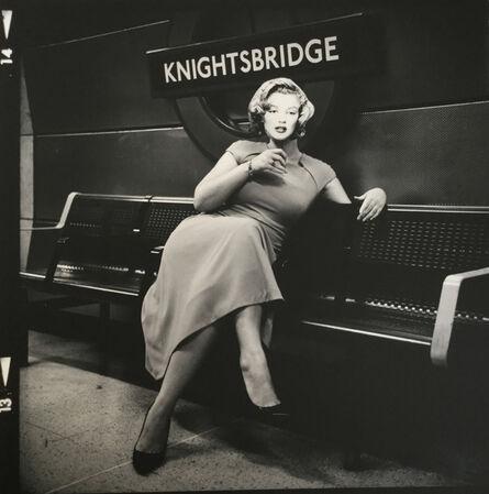 John Stoddart, 'Knightsbridge Tube Station, London', 2018